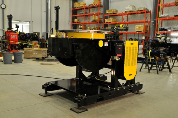 12000 gear tilt welding positioner