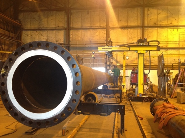 12 ton tank turning rollers for welding