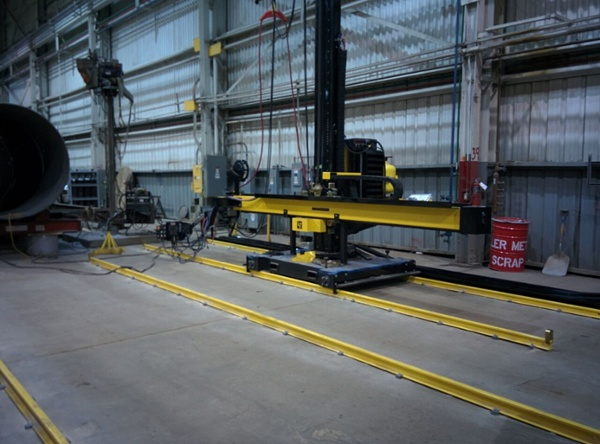 12x12 miller welders column and boom welding manipulator