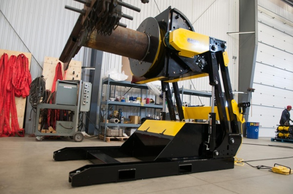 weld positioner with hydraulic tilt function for sale
