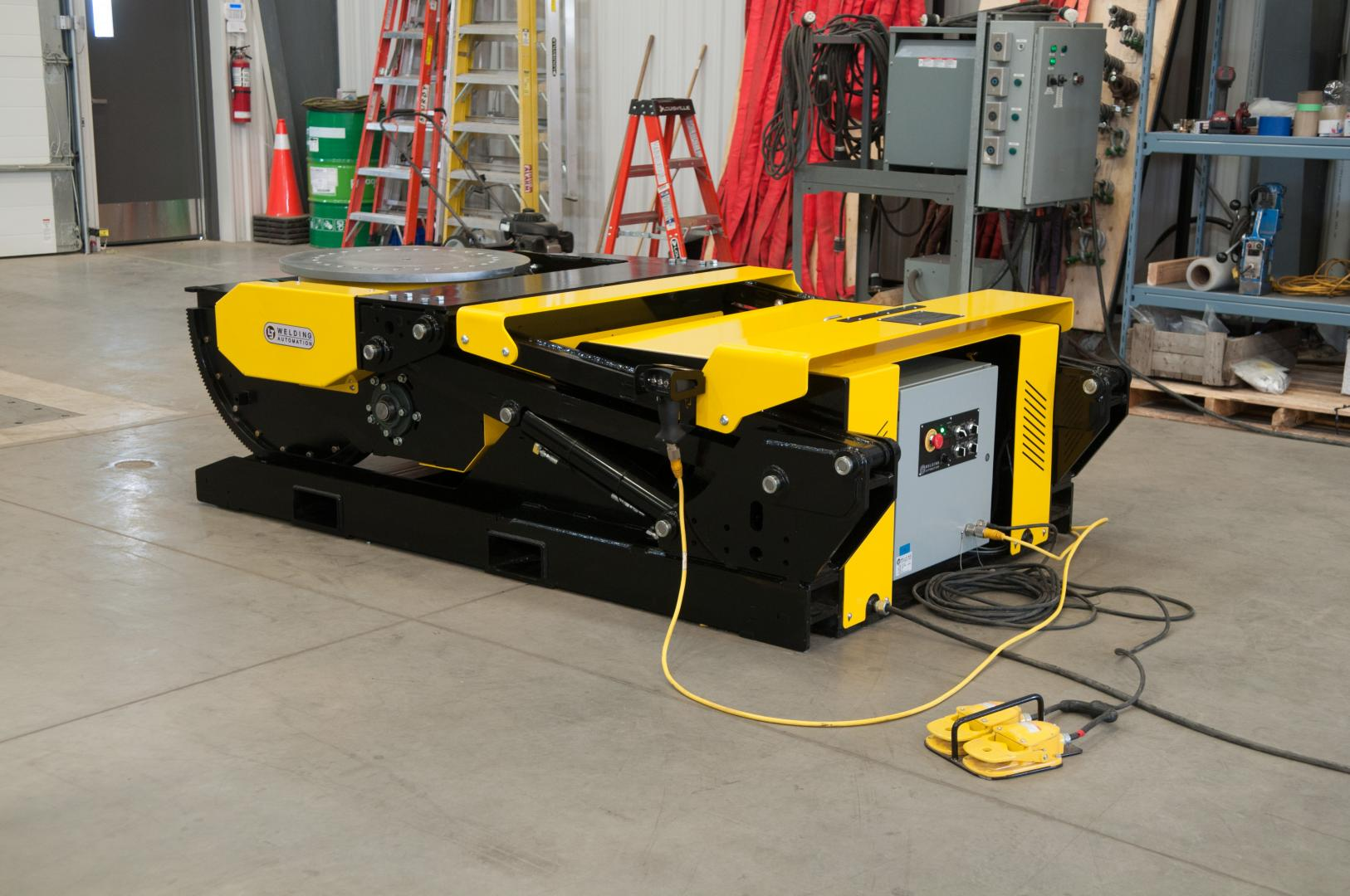 hydraulic tilt weld positioners rental