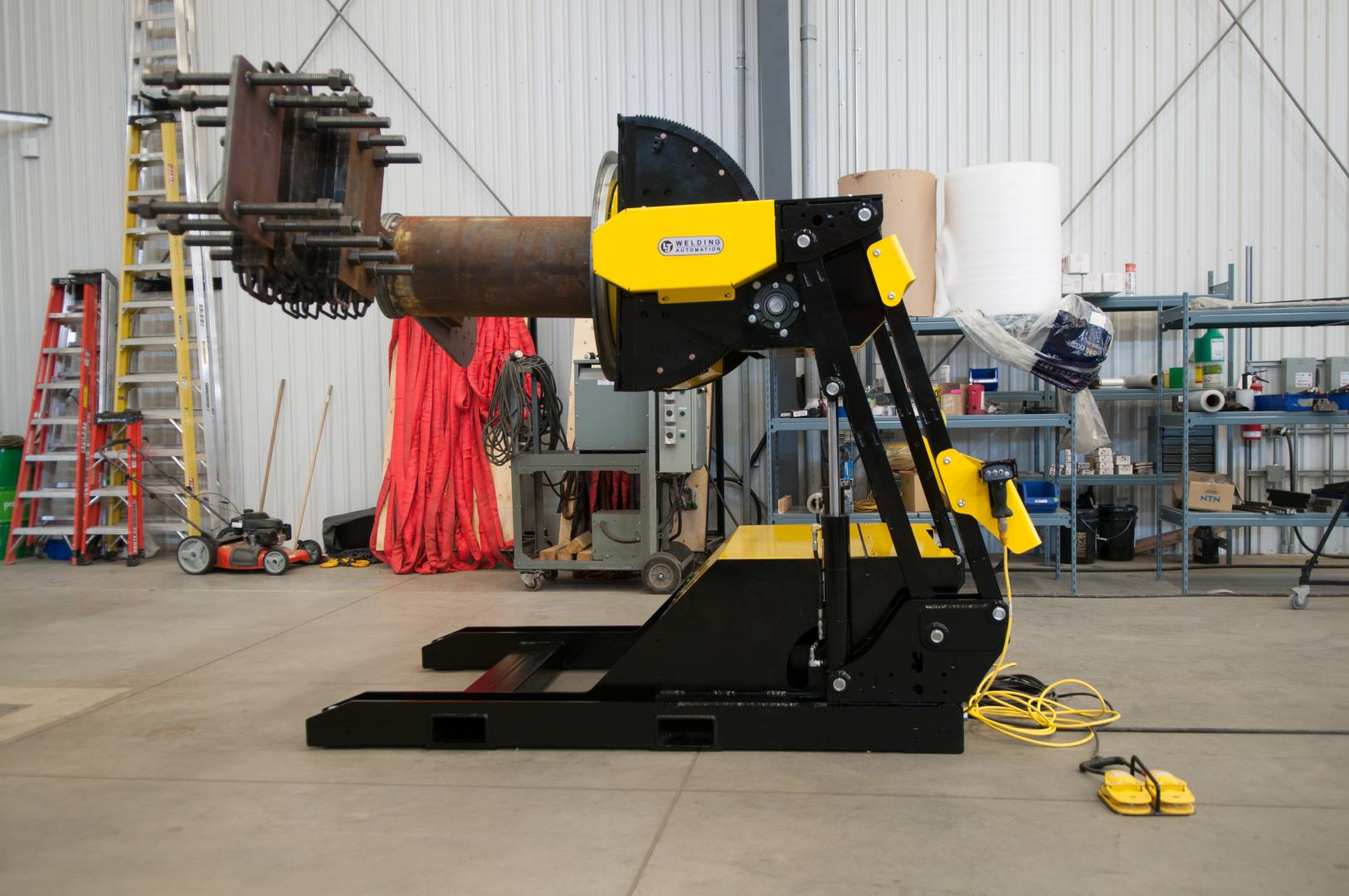 hydraulic tilting weld positioners for rent