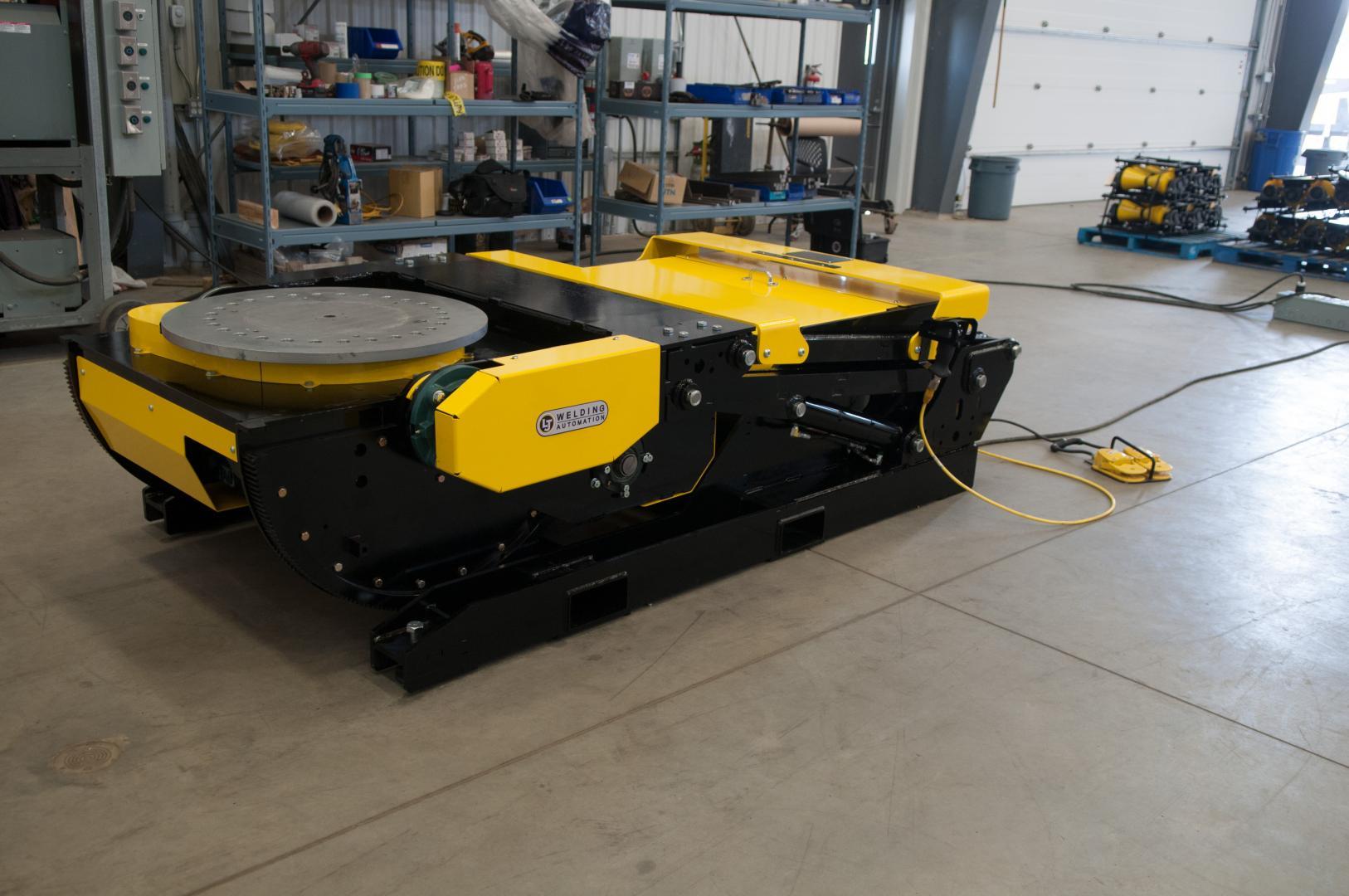 hydraulic tilt weld positioners sales