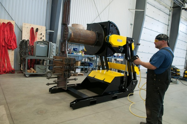 rent a hydraulic weld positioners