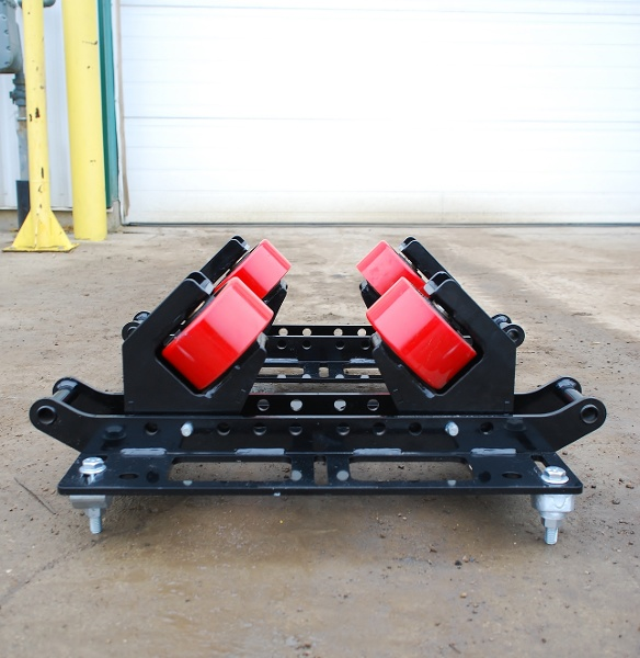 uni-directional pipe rack beam clamp rigging rollers for sale (2-ton capacity)