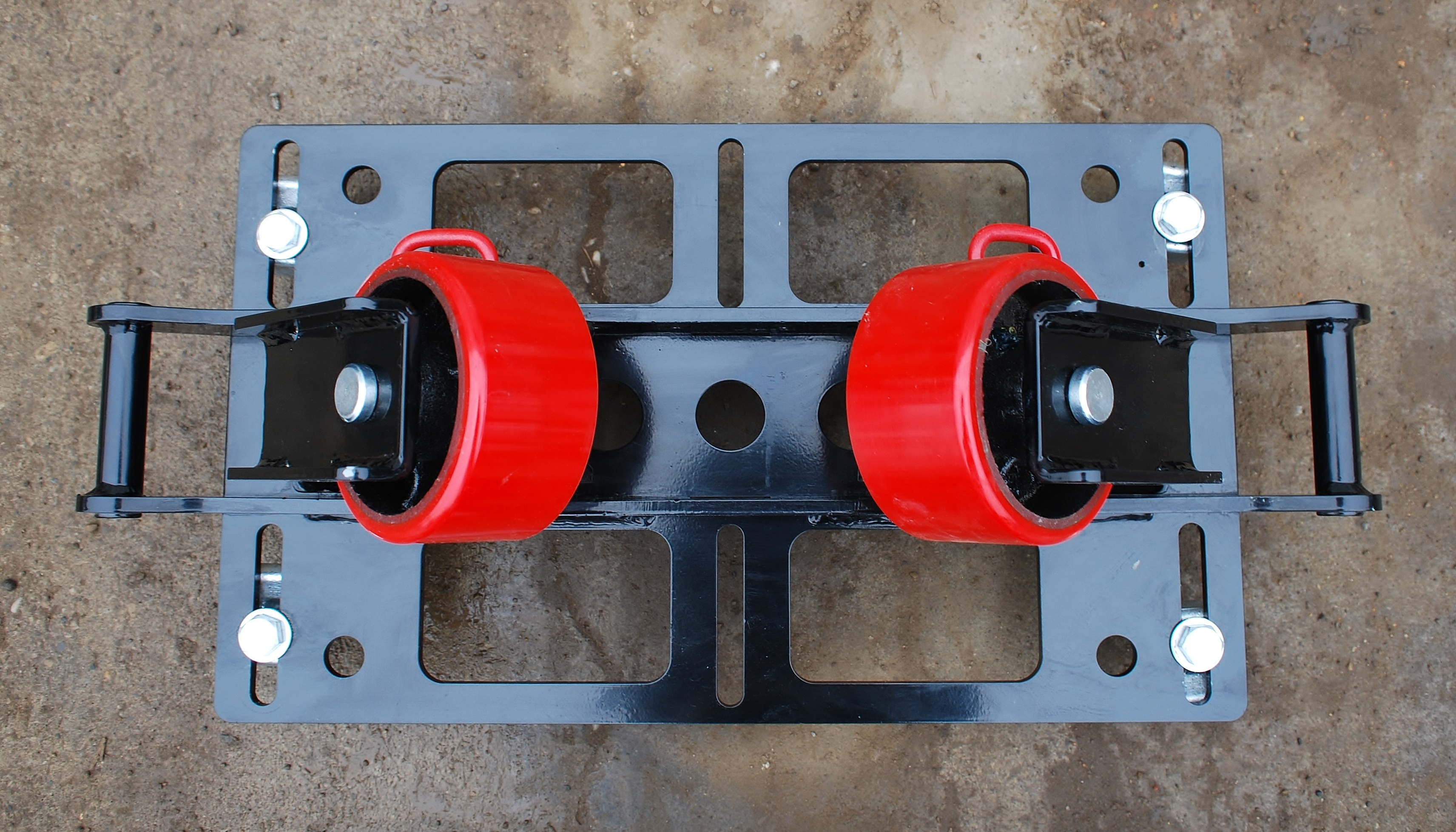 pipe rack rigging rollers for sale (2-ton capacity)