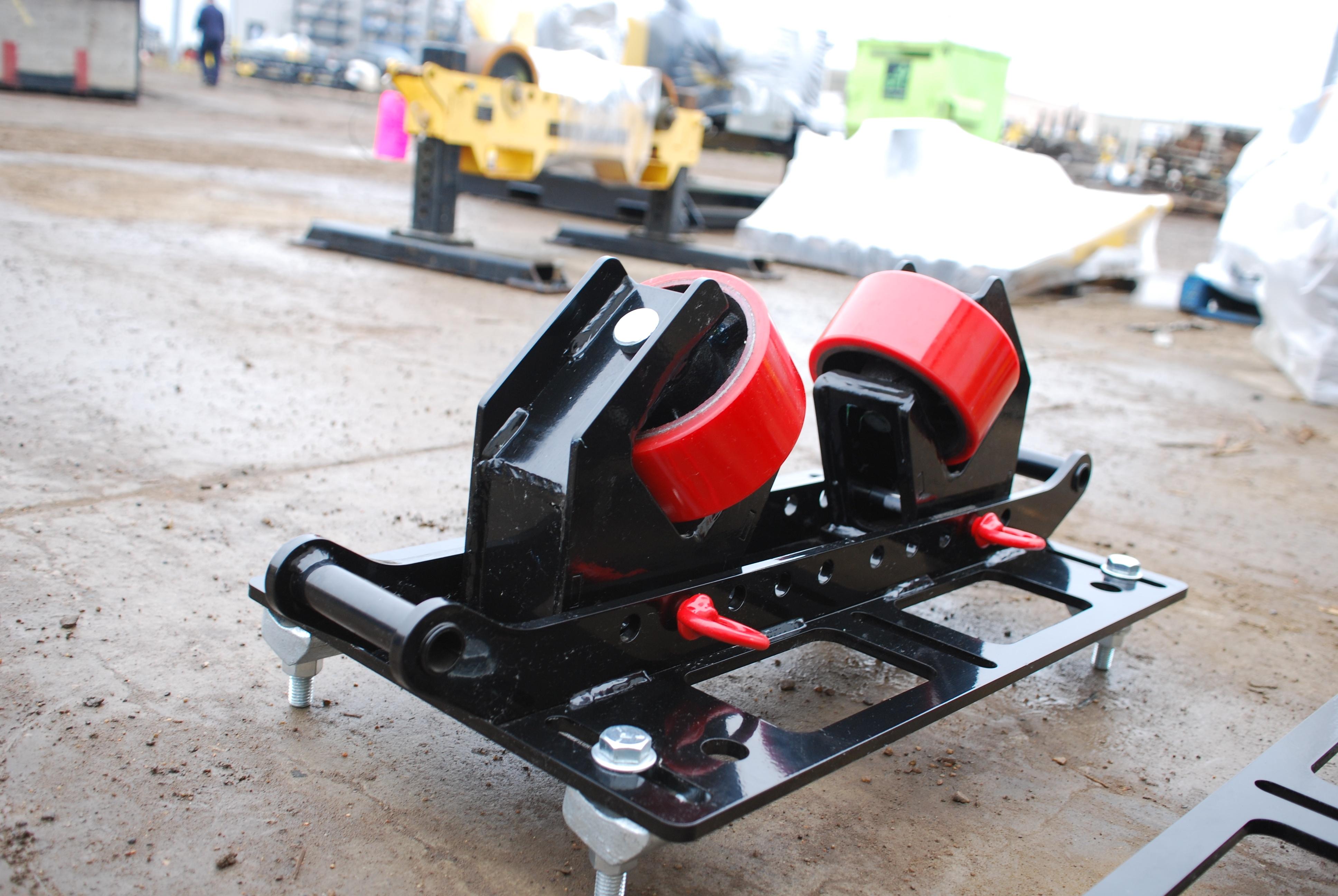 beam clamp rigging roller rentals