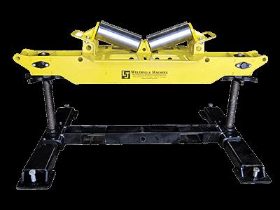 2-Ton Horizontal V-Roller Head Pipe Roller Stands - LJ Welding