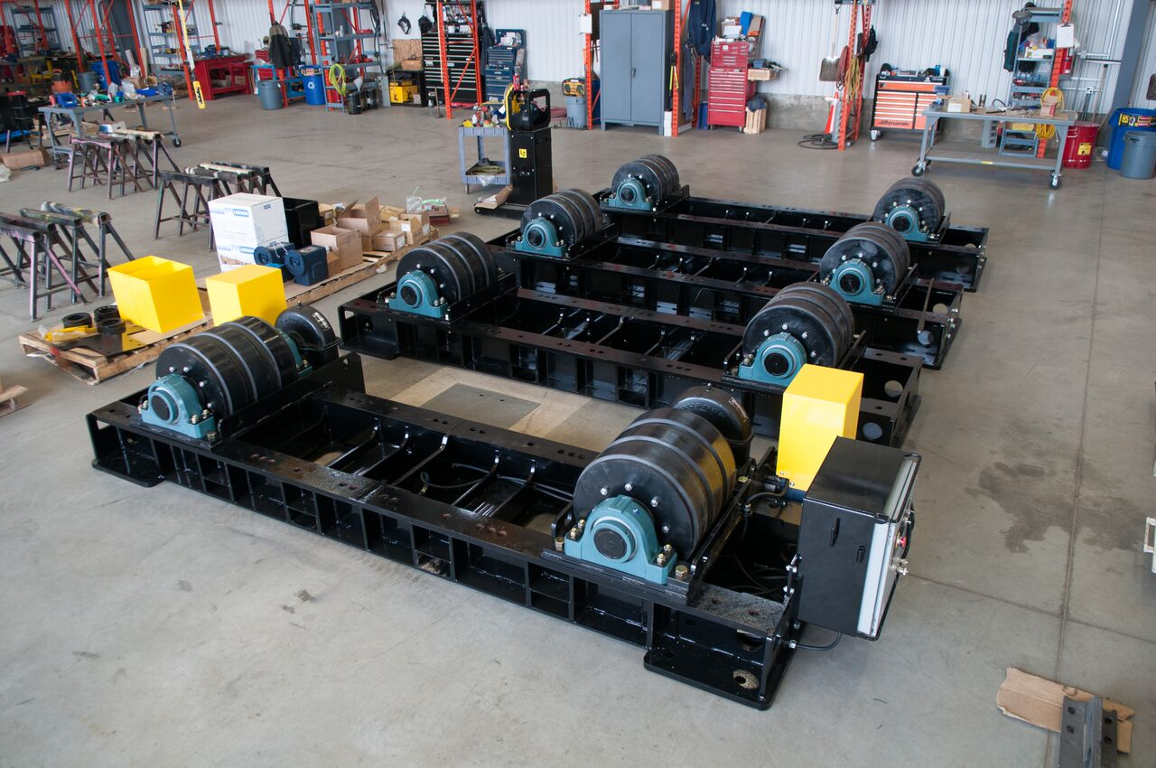 200 tonne vessel rotators