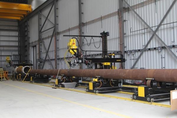 20-Ton Pipe Alignment Turning Rolls