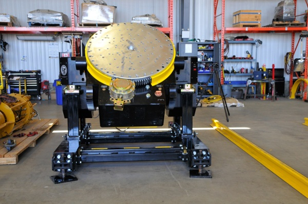 24000 lbs gear tilt welding positioner