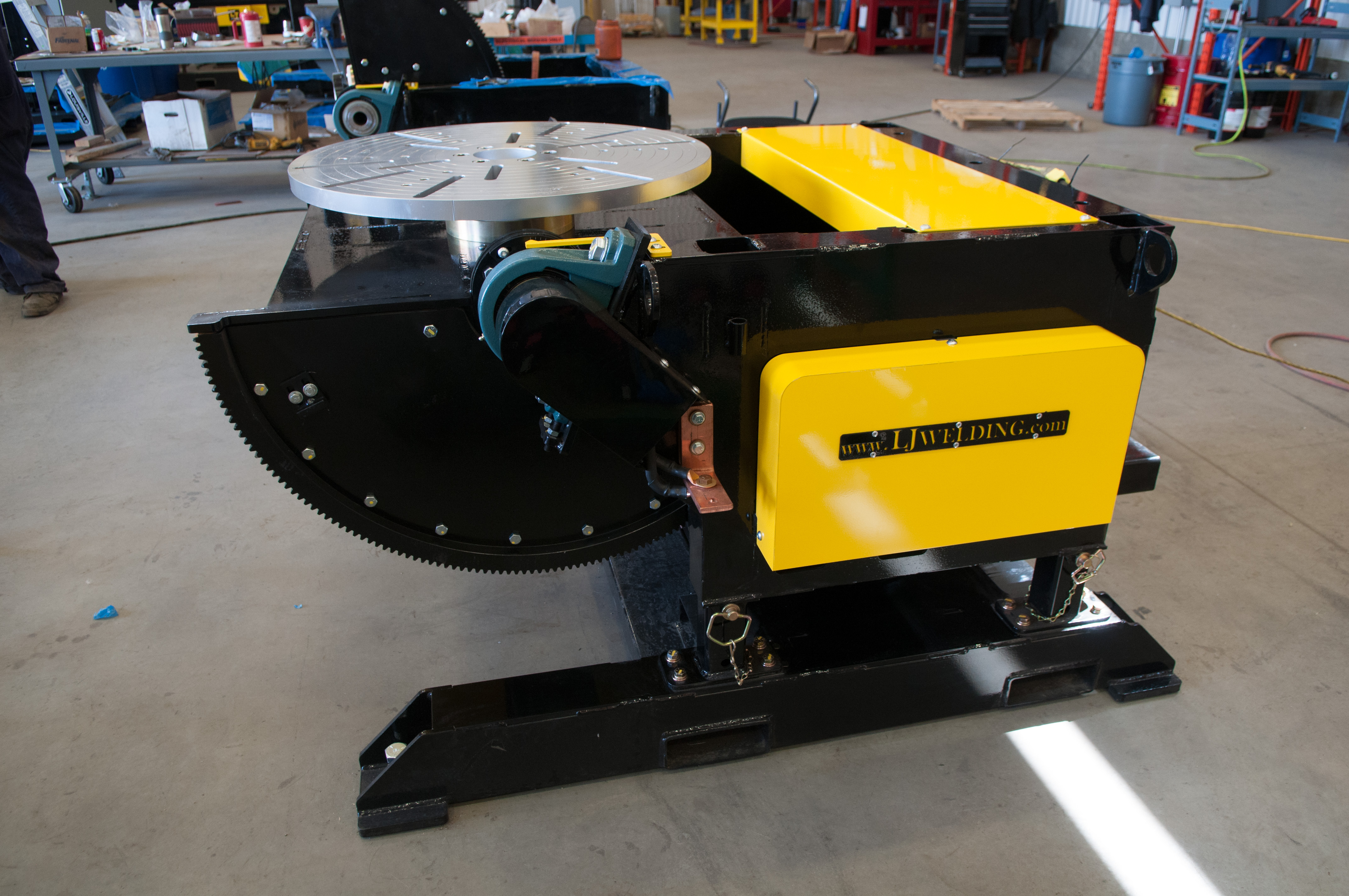 3000 lb gear tilt welding positioner on sale