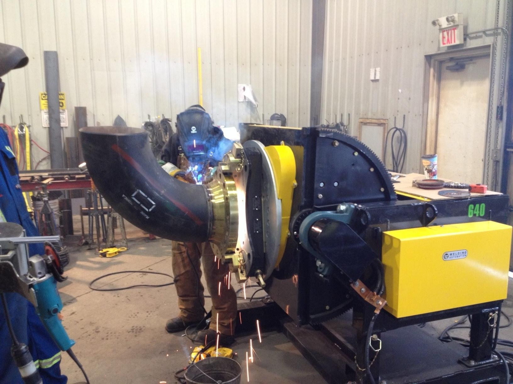 6000 lbs gear tilt pipe welding positioner for sale