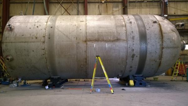 80 ton turning rolls for welding