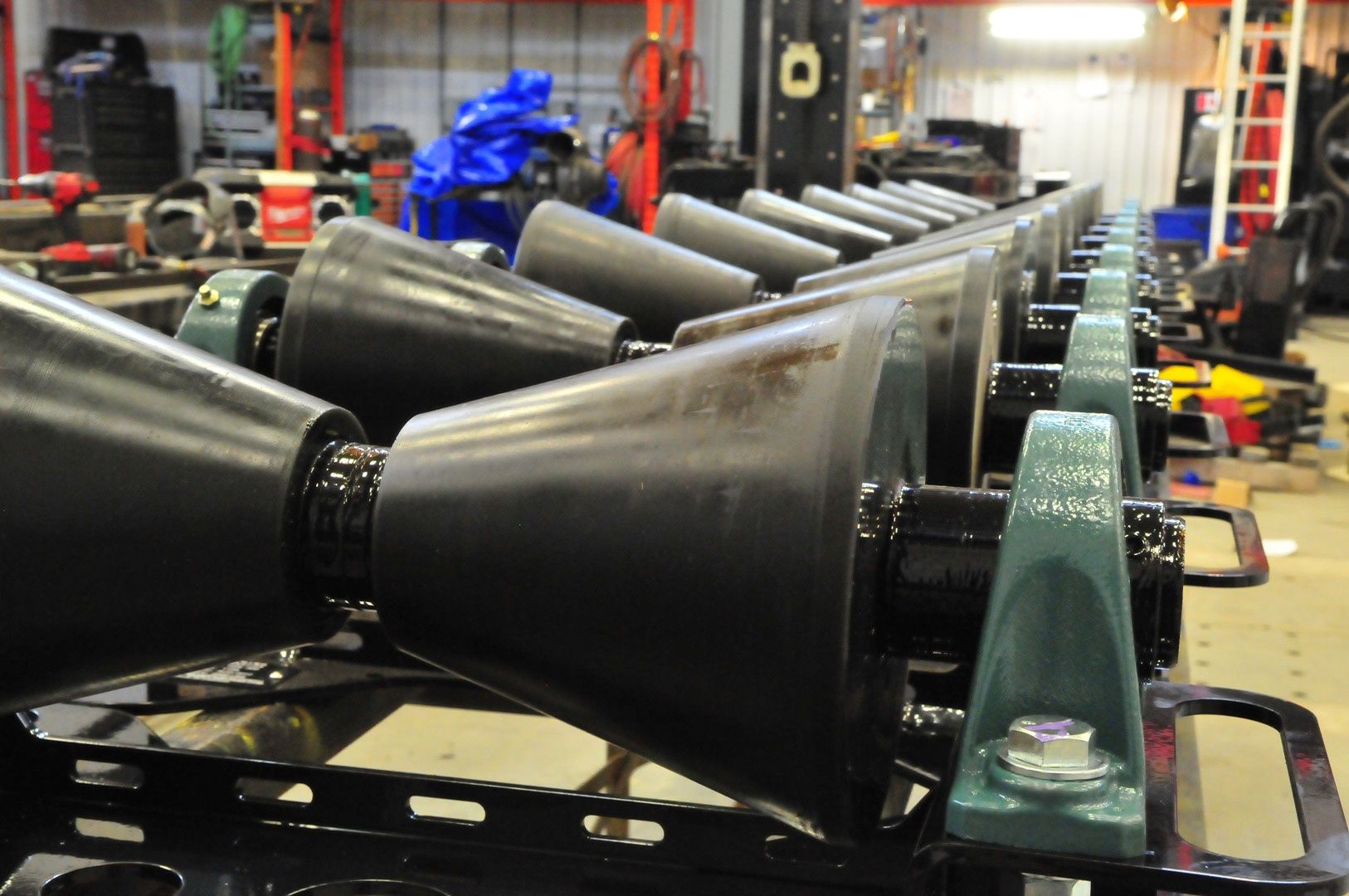 pipeline rollers with 1-ton load capacity