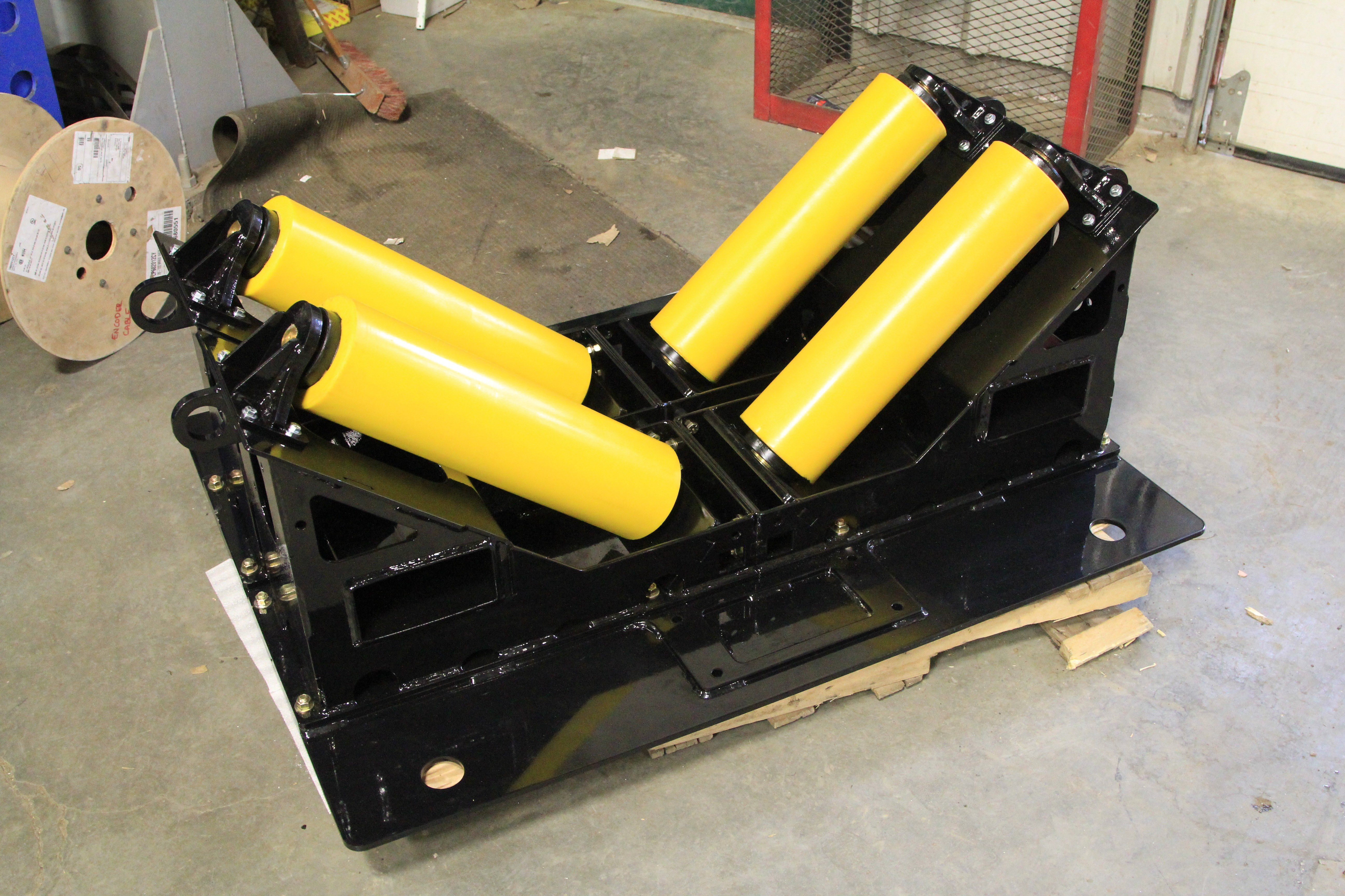 10 ton pipeline rollers