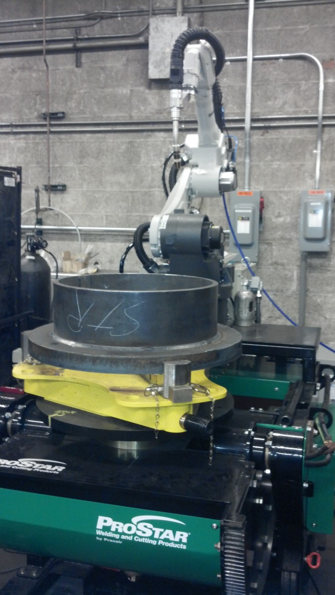 Robotic Welding Cells