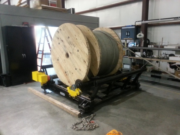 used Cable Reel Rollers for sale