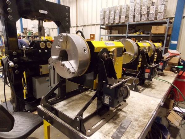 Thru-Bore Welding Positioner for sale