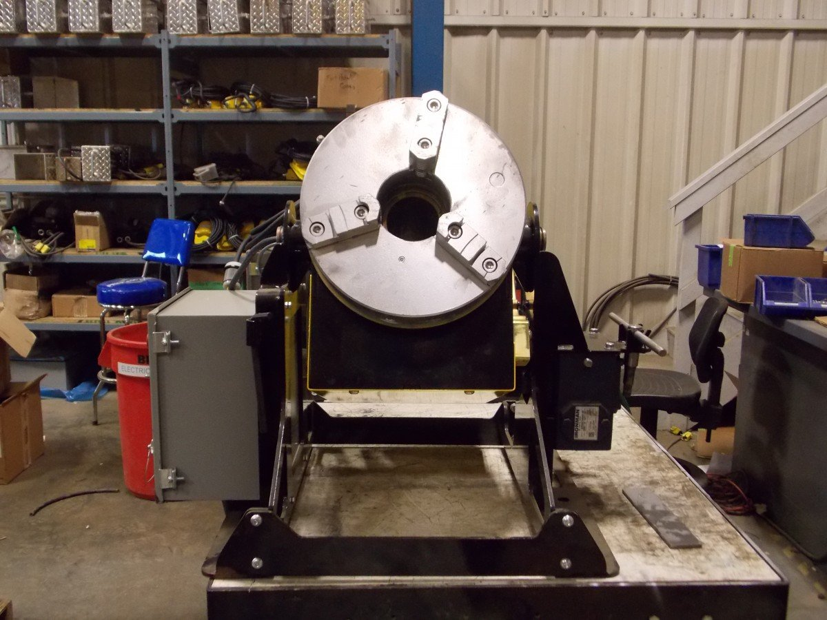 Thru-Bore Welding Positioners for sale 3