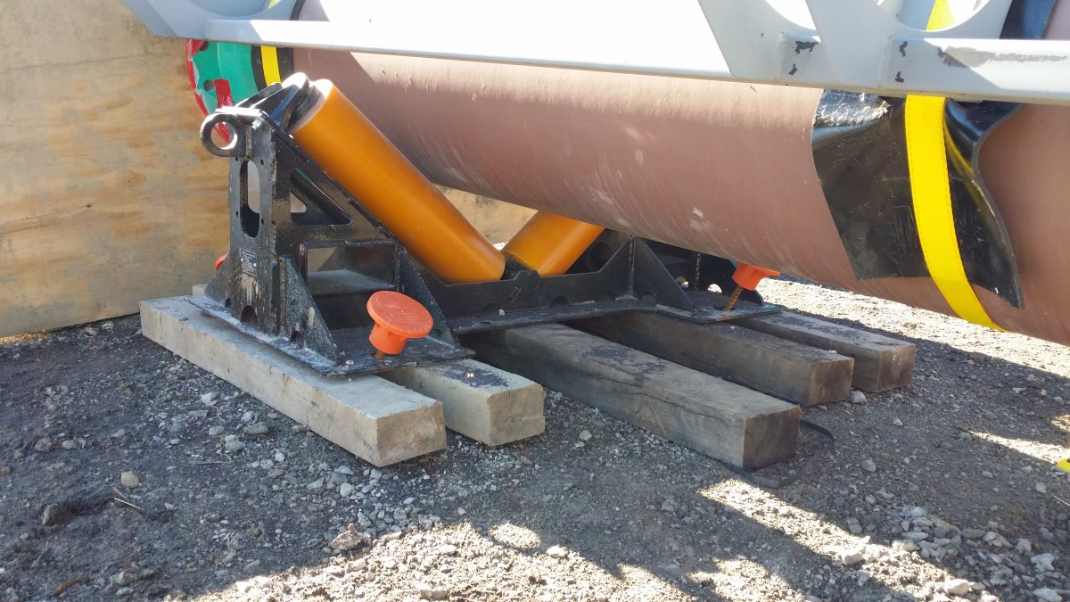 used pipe roller supports for sale