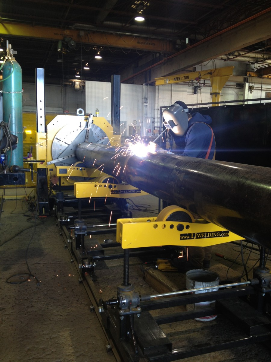 pipe stands for sale with welding positioner