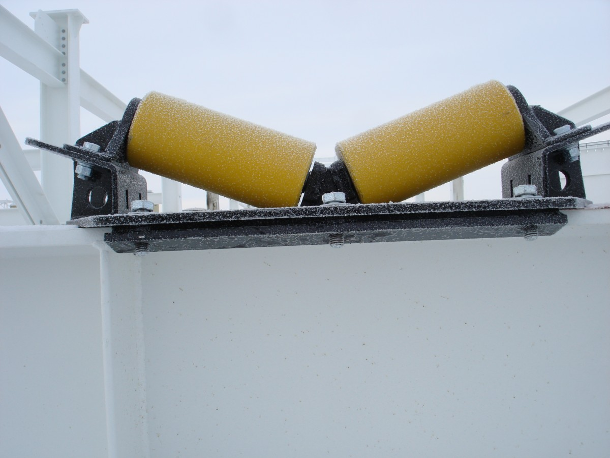 used pipe rigging rollers for rent