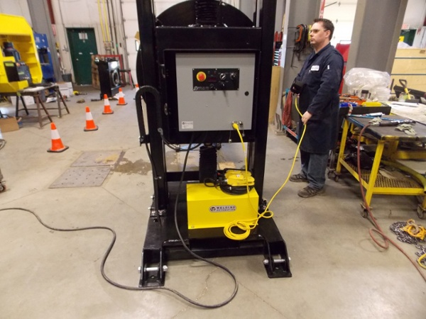 Powered Elevation Headstock Welding Positioners