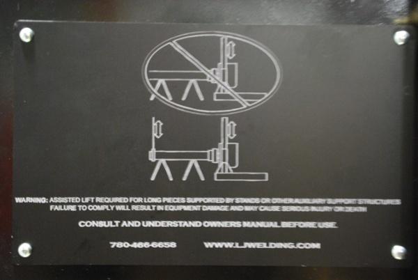 Powered Elevation Headstock Welding Positioner