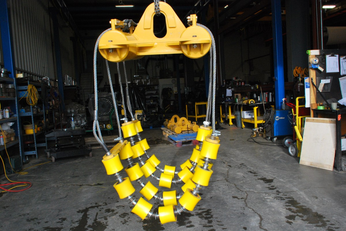 pipeline pipe cradles for rent