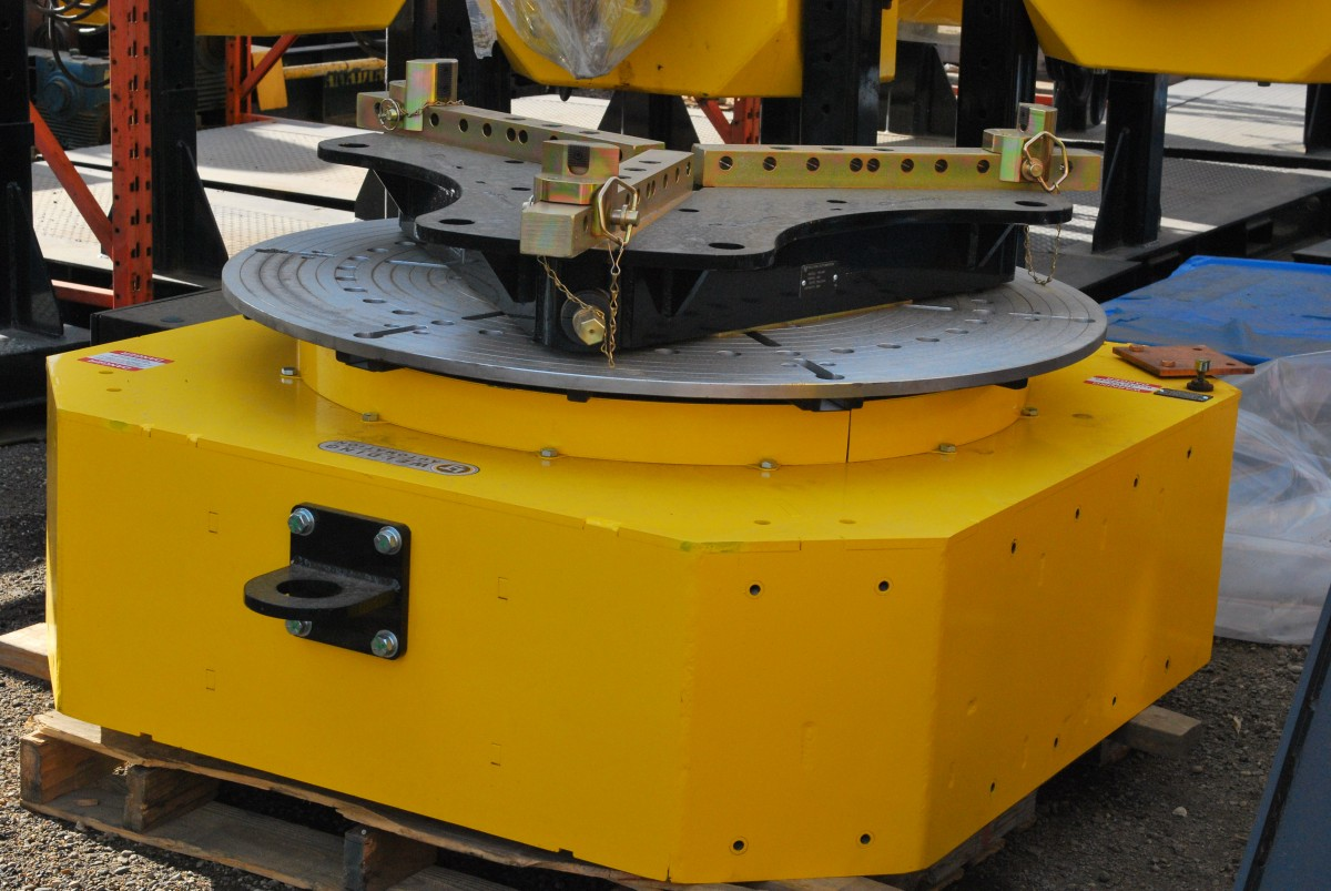 10-Ton Low Profile Welding Turntable (Floor Turntable) used