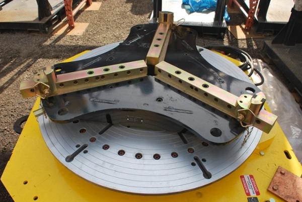 10-Ton Low Profile Welding Turntable (Floor Turntable) for sale
