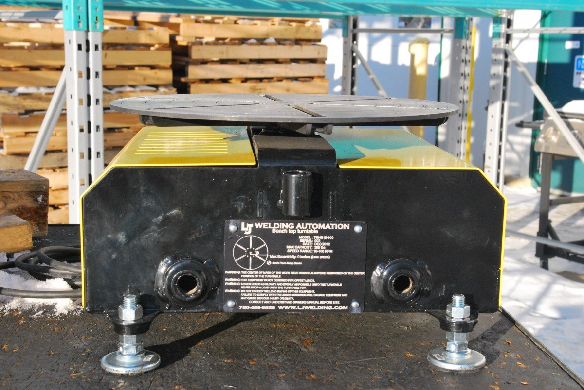 High Speed Welding Turntable (Floor turntable) for sale