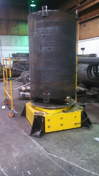 10-Ton Low Profile Welding Turntable (Floor Turntable) for rent