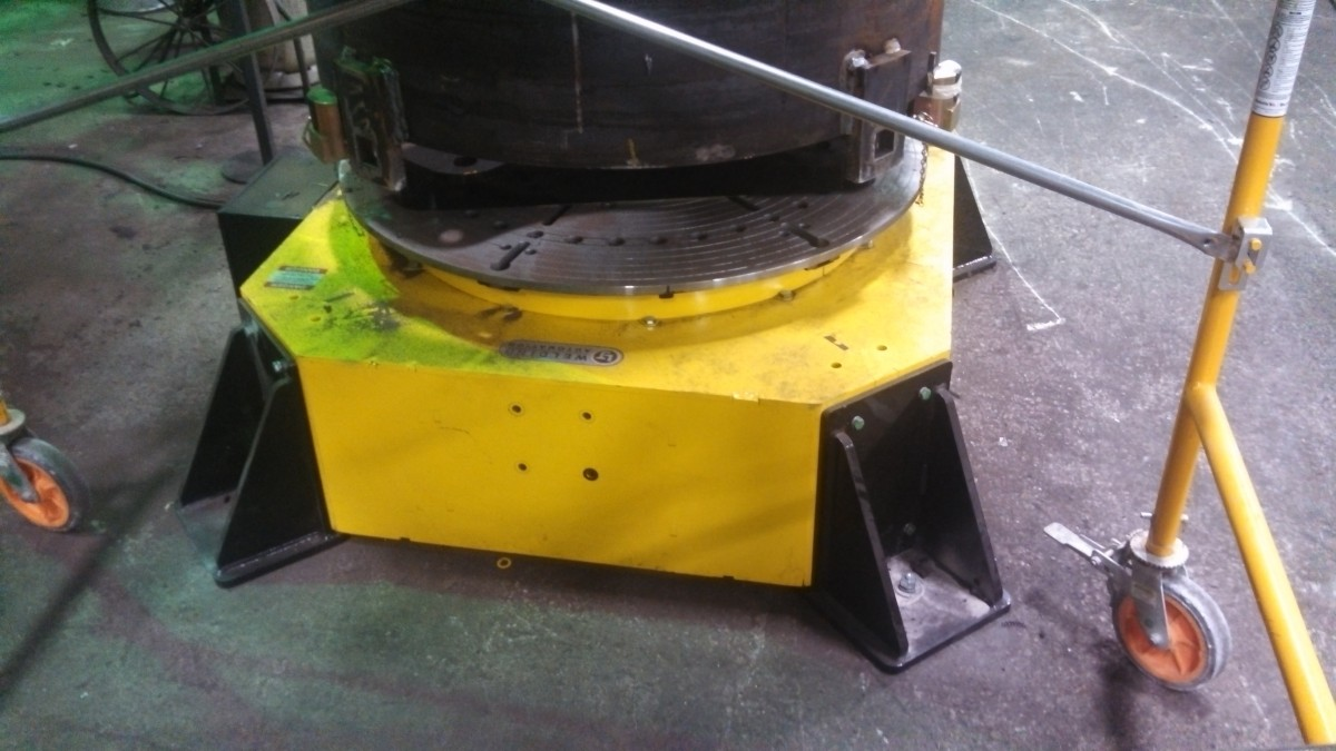 10-Ton Low Profile Welding Turntable (Floor Turntable) for sale