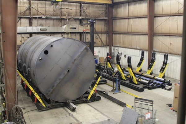 vessel fit up roll
