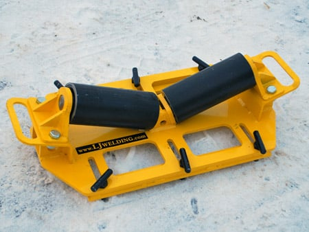 used pipe rack rollers for rent