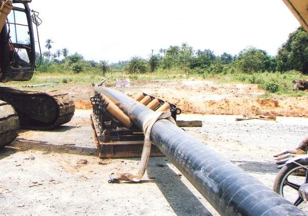 used pipe roller supports