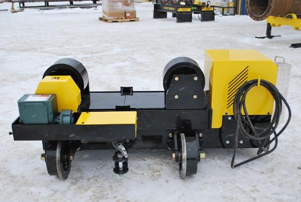 12-ton used pipe alignment rotators