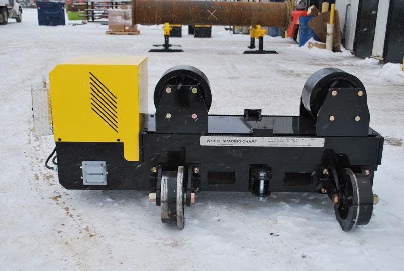 12-ton pipe alignment rotators