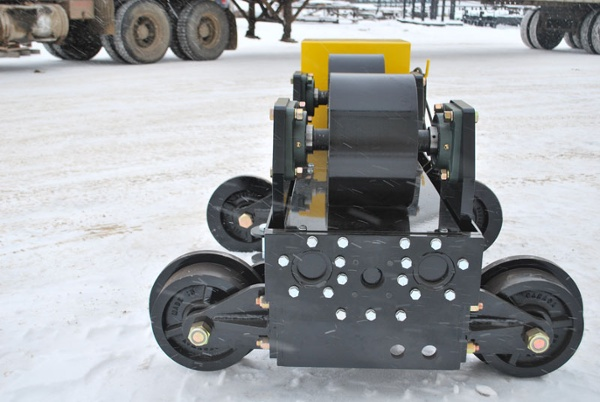 12-ton used pipe alignment rollers