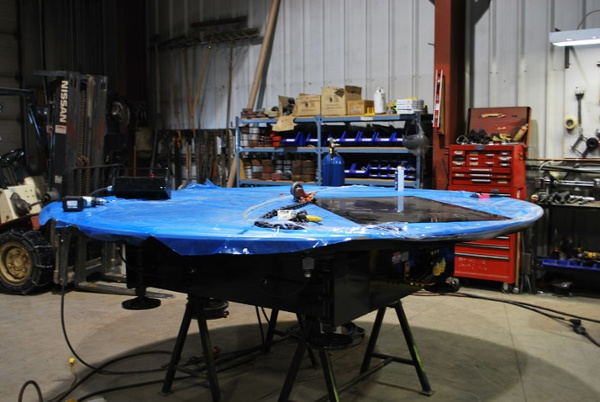 welding turntables low profile for sale