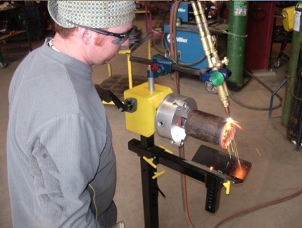 Manual Hand Crank Welding Positioners 1