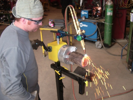 Manual Hand Crank Welding Positioners 2