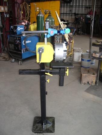 Manual Hand Crank Welding Positioners 3