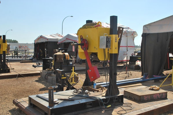 a pipe welding positioner