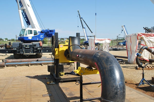 clearance pipe welding positioners