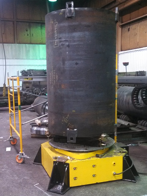 30-Ton Low Profile Welding Turntable (floor turntable) for sale