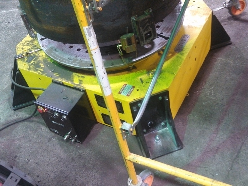 30-Ton Low Profile Welding Turntable for sale