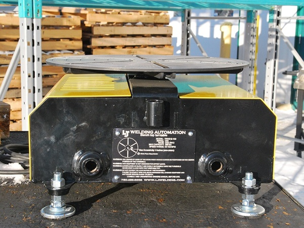 High Speed Welding Turntable (Floor turntable) used